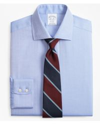 Brooks Brothers - Regent Fitted Dress Shirt, Non-iron Herringbone - Lyst