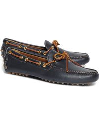 Brooks Brothers - Tie Driving Moccasins - Lyst