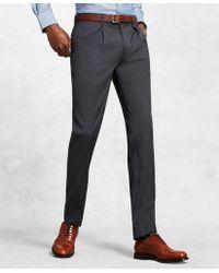 Brooks Brothers - Golden Fleece® Single-pleat Dress Trousers - Lyst