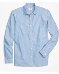 Brooks Brothers - Nine To Nine Framed Stripe Shirt - Lyst