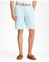Brooks Brothers - Garment-dyed Bermuda Shorts - Lyst