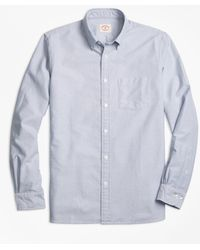 Brooks Brothers - Solid Oxford Sport Shirt - Lyst