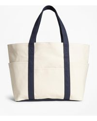 Brooks Brothers - Canvas Tote Bag - Lyst