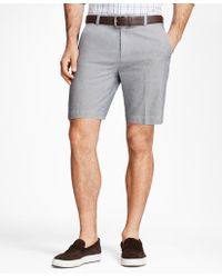 Brooks Brothers - Chambray Shorts - Lyst
