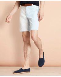 Brooks Brothers - Cotton Seersucker Fun Shorts - Lyst