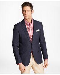 Brooks Brothers | Regent Fit Hopsack Sport Coat | Lyst