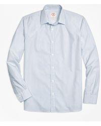 Brooks Brothers - Nine-to-nine Thin-stripe Shirt - Lyst
