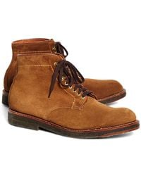 Brooks Brothers - Suede Boots - Lyst