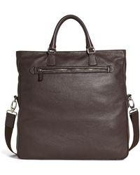 Brooks Brothers - Pebble Leather Tote - Lyst