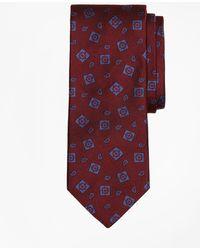 Brooks Brothers - Tossed Alternating Medallion Tie - Lyst