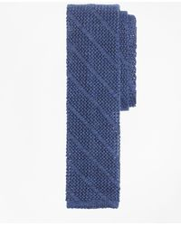 Brooks Brothers - Square End Knit Tie - Lyst