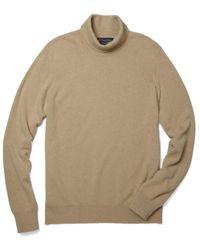 Brooks Brothers - Cashmere Turtleneck Sweater - Lyst