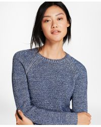 Brooks Brothers - Marled Cotton-blend Sweater - Lyst