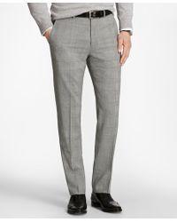 Brooks Brothers - Regent Fit Brookscool® Glen Plaid Trousers - Lyst