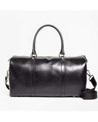 Brooks Brothers - Leather Duffle Bag - Lyst