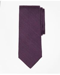Brooks Brothers - Melange Herringbone Tie - Lyst