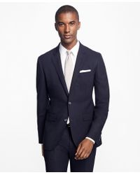 Brooks Brothers - Milano Fit Double-breasted Stripe 1818 Suit - Lyst
