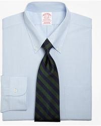 Brooks Brothers - Traditional Fit Button-down Collar Dress Shirt - Lyst