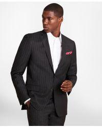 Brooks Brothers - Brooksgatetm Regent-fit Striped Wool Twill Suit Jacket - Lyst