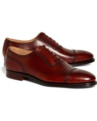 Brooks Brothers | Peal & Co.® Medallion Captoes | Lyst