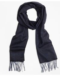 Brooks Brothers - Saxxontm Wool Herringbone Scarf - Lyst