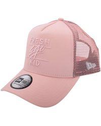 f78da9170ae Fresh Ego Kid - Pink Mesh Trucker Cap - Lyst