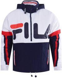 Fila - Overhead Shell Suit Jacket - Lyst