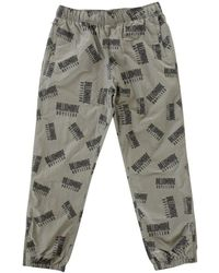 BBCICECREAM - Repeat Print Dark Grey Track Pant - Lyst