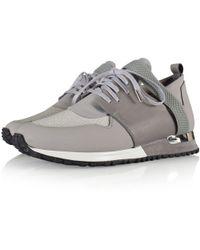 MALLET FOOTWEAR - Grey Btlr Elast Trainers - Lyst