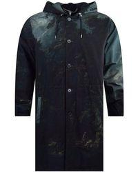 McQ - Darkest Black Iggy Parka Jacket - Lyst