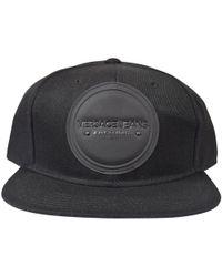 b0f96062b72 Versace Jeans Applique Patch Baseball Cap in Black for Men - Lyst