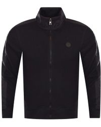 Michael Kors - Black Zip Through Jacket - Lyst
