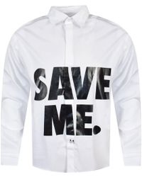 Blood Brother - White Save Me Shirt - Lyst