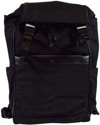 BOSS - Black Nylon Travel Backpack - Lyst