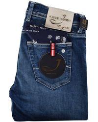 Jacob Cohen - Blue Limited Edition Denim Jeans - Lyst