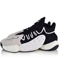 Y-3 - Leather Basketball Trainers - Lyst