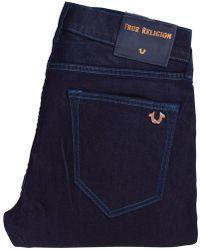 True Religion - Blue Rinse Rocco Skinny Jeans - Lyst
