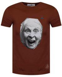 Vivienne Westwood - Rust Portrait Print T-shirt - Lyst