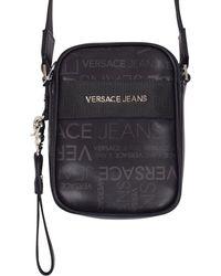 Versace Jeans Cross-body Bag in Black for Men - Lyst 356ed4cb3978a