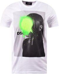 DSquared² Logo-printed T-shirt - White