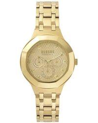 Versace - Versace Gold Vsp360517 Watch - Lyst