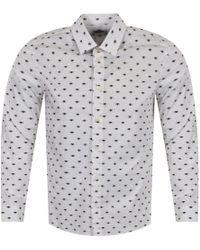 KENZO - White/black Eye Logo Shirt - Lyst