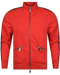 Blood Brother - Red Web Track Top - Lyst