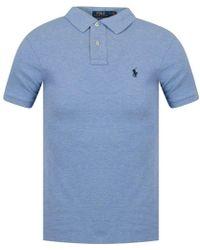Polo Ralph Lauren - Jamaica Blue Polo Shirt - Lyst