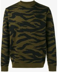 (w)taps | Animal Print Jumper | Lyst