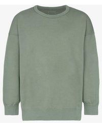 Visvim - Cotton Jumbo Crew Sweatshirt - Lyst
