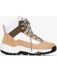 Diemme - Beige Cortina Suede Hiking Boots - Lyst