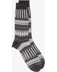 Ayamé - Lunch Patterned Socks - Lyst