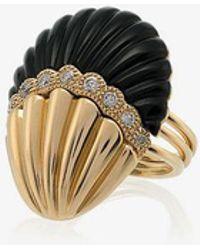 Yvonne Léon - Shell Diamond Ring - Lyst