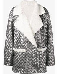 Kalmanovich - Faux Shearling Sequin Jacket - Lyst